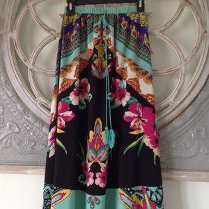 Maxi Boho  style skirt
